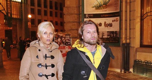 Zamilovaná dvojice Karin Babinská a Richard Krajčo