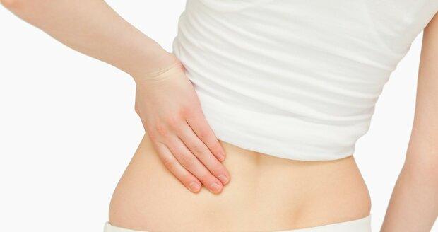 Bolest zad v bedrech může poukazovat na nemocné ledviny.