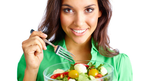 Jezte normálně, ale uberte na množství a přidejte spoustu zeleniny