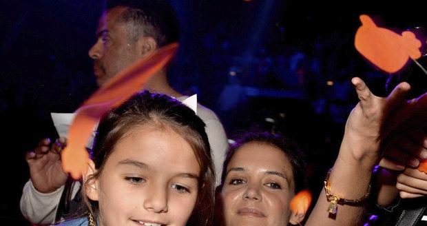 Katie Holmes s dcerou Suri.