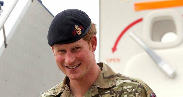 Britský princ Harry