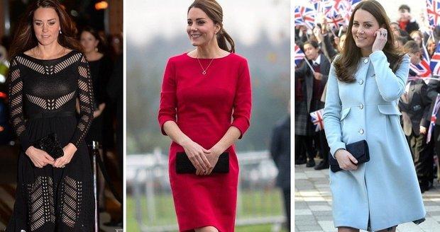 Módní ikona Kate je elegantní a stylová i na podpatcích pár dnů před  porodem. 2f038ed0a7