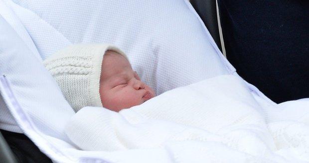 Princezna Charlotte Elizabeth Diana je druhorozenou královského páru Kate a Williama.