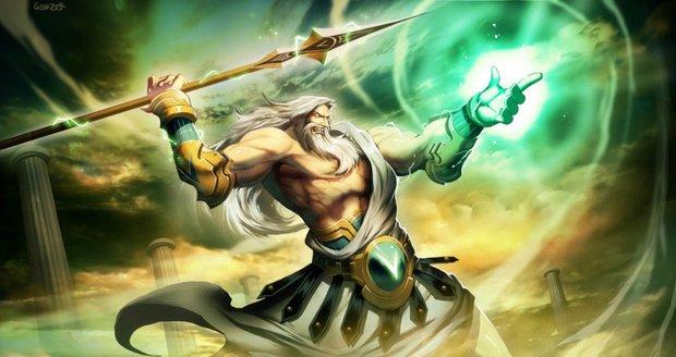 Který z řeckých bohů nad vámi drží ochrannou ruku?