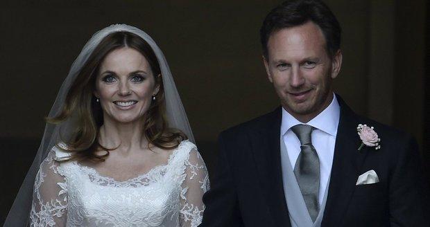Geri Halliwell a její manžel Christian se stali o víkendu rodiči.