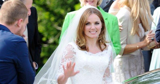 Geri Halliwell se vdala za bosse formule 1 Christiana Hornera.