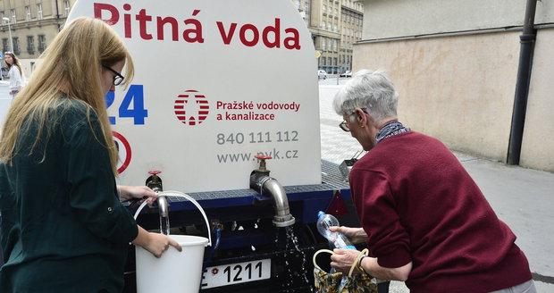 Kde v Praze tento týden nepoteče voda?