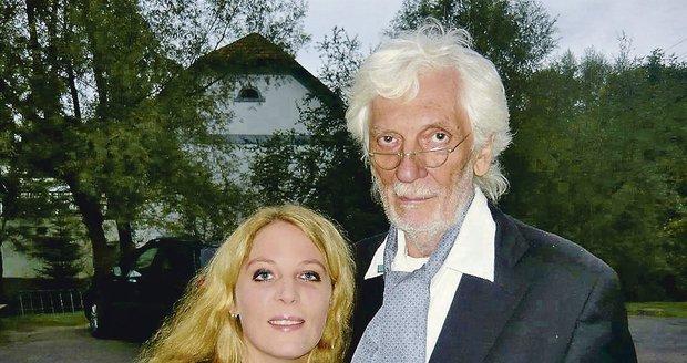 Petra Hapková o svého tatínka pečovala poslední roky jeho života.