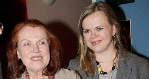 Sabina Remundová s maminkou Ivou Janžurovou