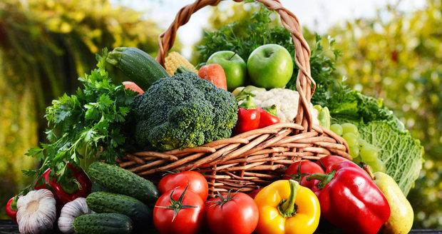 Zeleninu si můžete denně dopřát až pětkrát, oproti tomu ovoce jen maximálně třikrát.