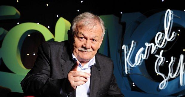 Moderátor Všechnopárty Karel Šíp