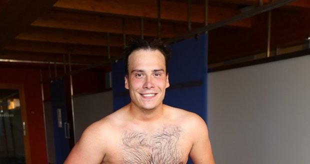 Petr Suchoň se dostal až na váhu 110 kg.