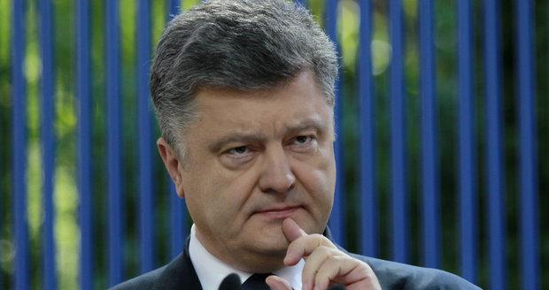 Šokující tvrzení Porošenka: Na Ukrajině je prý 200 tisíc ruských vojáků
