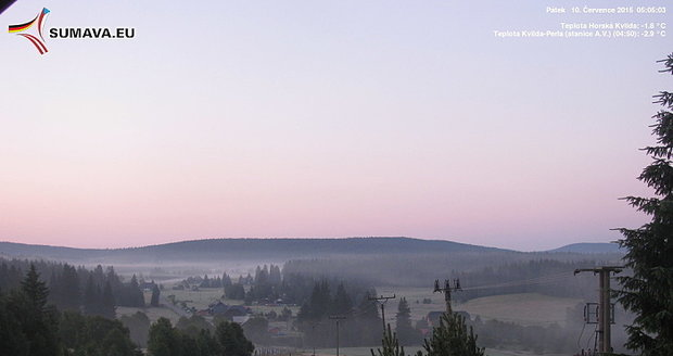 Teploty minus 10 °C zasáhly Česko. V pátek bude ale opět teplo. Až 18 °C.
