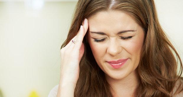Trápí vás migrény? Poradíme vám, jak s nimi bojovat!