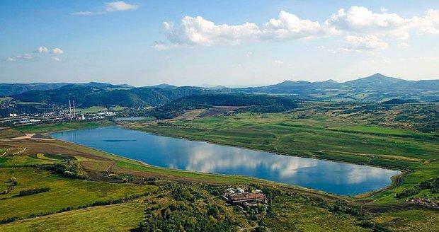 Jezero Milada – Chabařovice