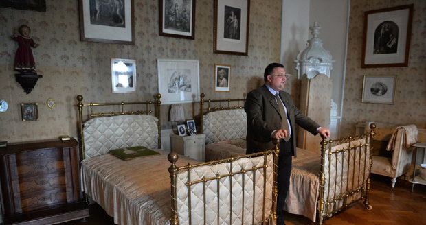 """""""Tahle postel má opravdu zajímavou historii..."""""""