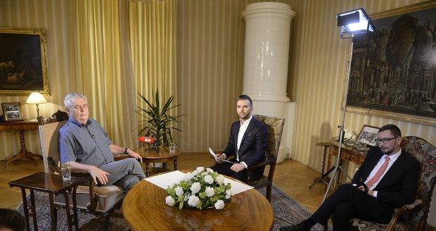 Mluvili jsme S prezidentem v Lánech: Hyena Bakala, alkohol a nezvaní uprchlíci