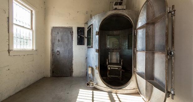 Nový způsob trestu smrti: V Oklahomě budou zločince popravovat plynem