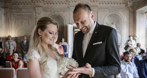 Miloš Knor s manželkou