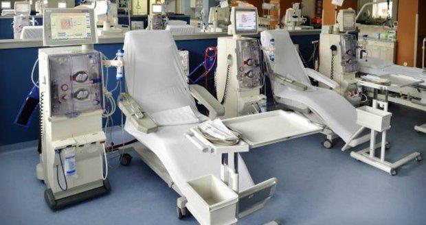 Dialyační středisko ve vysočanské poliklinice funguje už 10 let. (ilustrační foto)