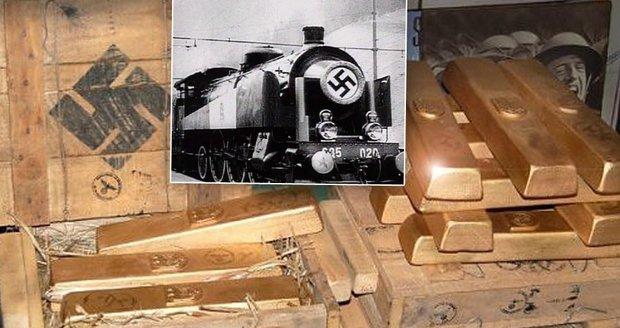 Vlak s nacistickým zlatem v Polsku na 99 % existuje! Potvrdil to radarový snímek