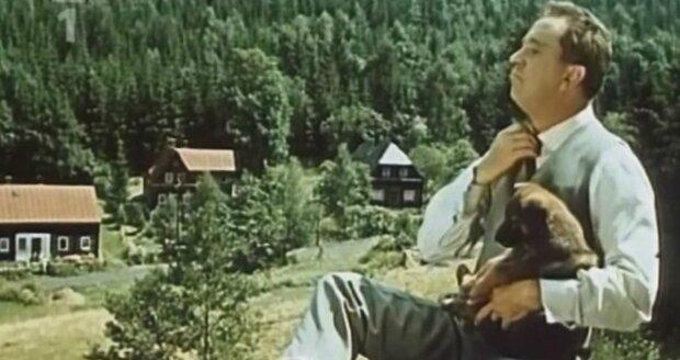 Film Táto, sežeň štěně v hlavní roli s Horníčkem se natáčel v Kytlicích.