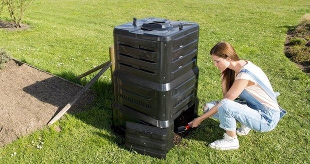 Kompostér se dokonale postará o veškerý biologický odpad z kuchyně i zahrady. Zpracuje ho v kvalitní a čistě přírodní humus.