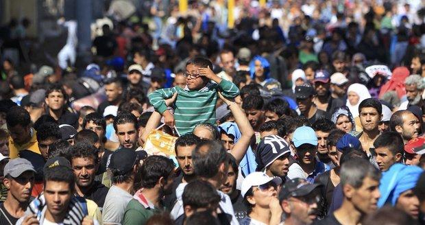 Odhad OSN: Ze Sýrie odejde další milion běženců, budou chtít i do Evropy