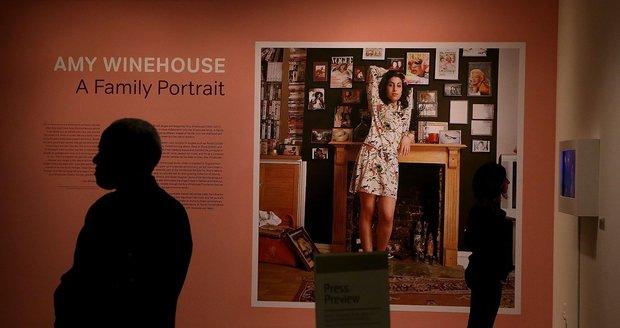 Výstava Amy Winehouse: The Family Portrait.