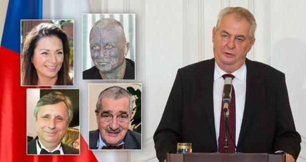 Zemanův poločas očima poražených soupeřů: Jak ho exkandidáti ohodnotili?