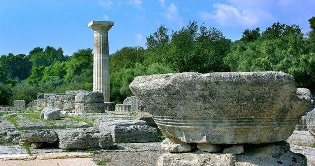 Památky na Peloponésu
