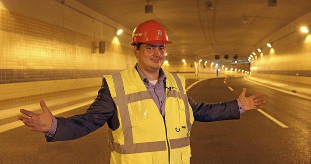 A je to! Náměstek Petr Dolínek v sobotu otevře tunelový komplex Blanka.