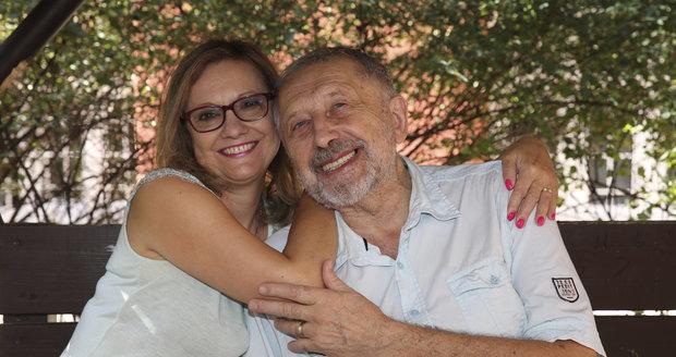 Jan Vodňanský s manželkou Ivankou