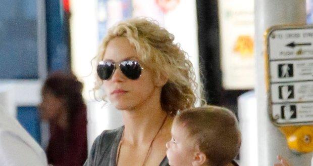 Shakira se synem Sashou.