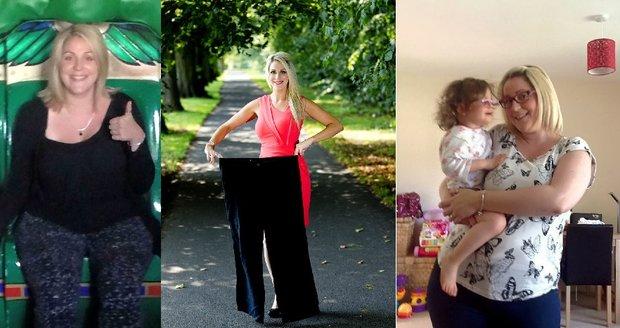 Zoey se podařilo za rok zhubnout třicet kilogramů. Stala se tak inspirací pro další ženy.
