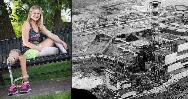 Děti Černobylu: Tatsiana se narodila bez nohou, je z ní úspěšná sportovkyně