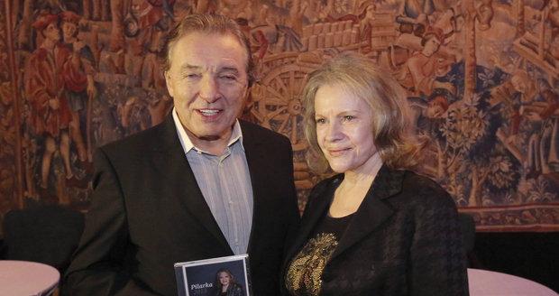 Eva s Karlem Gottem.