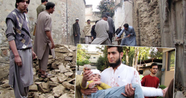 Zemětřesení v Pákistánu a Afghánistánu si vyžádalo 215 mrtvých