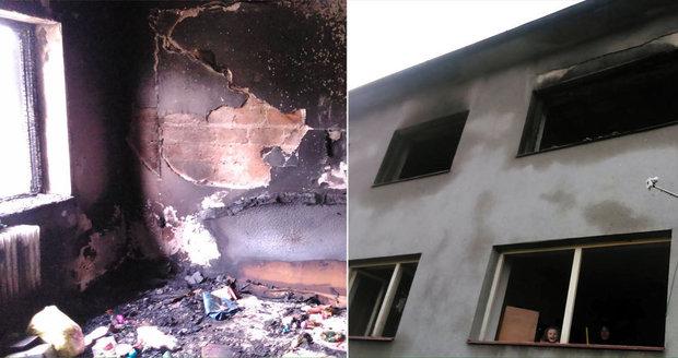 U Jihlavy vybouchla bomba: Exploze zranila babičku s vnučkou. Přátelé pro ně uspořádali sbírku