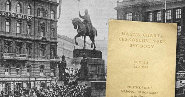 Unikátní listiny: První zákon naší republiky!