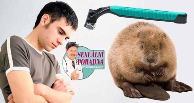 Dr. Karel Obdařený radí Luďkovi, jak si poradit s přítelkyni, která se v intimních partiích holí, i když jeho zrovna chloupky vzrušují.