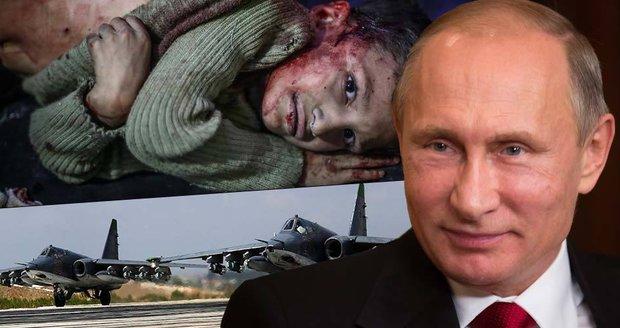 Ruské letectvo údajně v Sýrii zasáhlo již přes 1600 cílů. To je přes 54 denně