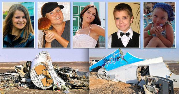 Tablo smrti! Z fotek cestujících, kteří zahynuli při pádu ruského airbusu, mrazí