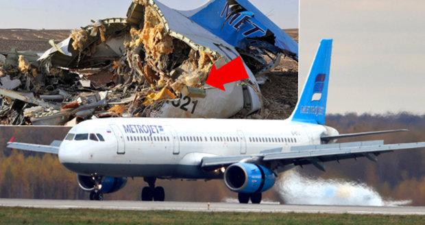 Výbuch ruského letadla v Egyptě: Tajné služby znají totožnost atentátníka