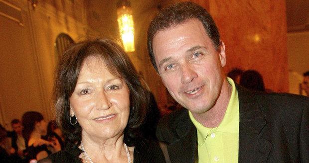 Marta Kubišová s Milanem Heinem.