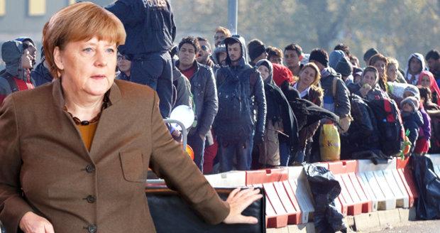 Další milion uprchlíků do Německa? Nemožné, přiznává Merkelová
