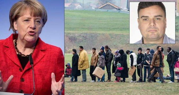 Komentář: Dodržuj evropské hodnoty, zbav se uprchlíků. Co, Merkelová?