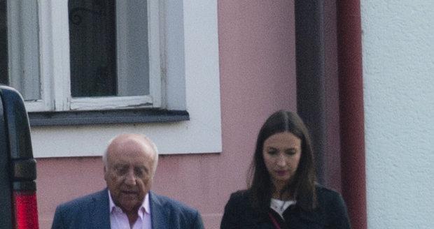 Felix s Lucií Gelemovou.