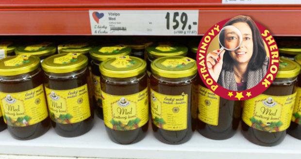 Dědečkův med z regálu Kauflandu zmizel.